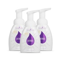 Young Living Lavender Foaming Hand Soap - 8 Ounces (Pack of 3)