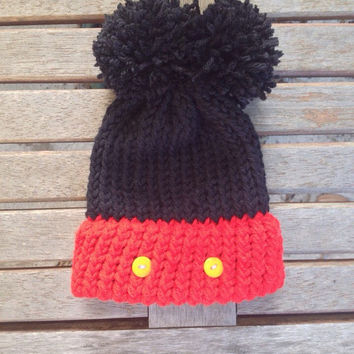 Hannah's Hats: Mickey Mouse Beanie