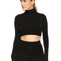 The NW Turtleneck Crop - Womens