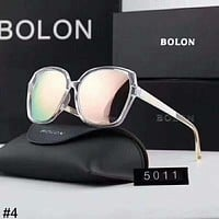 BOLON trend men and women sunglasses color film polarized anti-UV sunglasses #4
