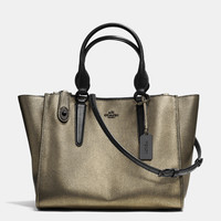 CROSBYcarryallin metallic leather