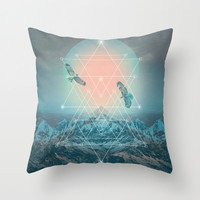 Find the Strength To Rise Up II Throw Pillow by Soaring Anchor Designs