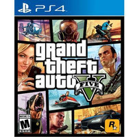 Grand Theft Auto V PS4 Video Game