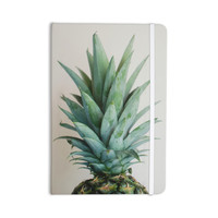 "Chelsea Victoria "" The Pineapple"" Green Gold Everything Notebook"