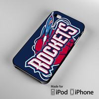 Houston Rockets A0387 iPhone 4 4S 5 5S 5C 6, iPod Touch 4 5 Cases
