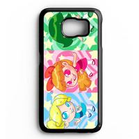 THE POWERPUFF GIRLS CARD Samsung Galaxy S4 Galaxy S5 Galaxy S6 Edge Case | Note 3 Note 4 Note 5 Case