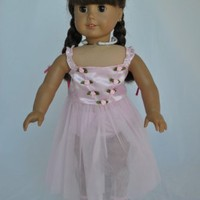 """Unique Doll Clothing Doll Clothes - Ballet Ballerina Dance Dress fits American Girl Dolls and Most 18"""" Dolls Including Madame Alexander"""