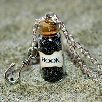 Captain HOOK Magical Necklace with a Hook Charm, Once Upon a Time, Peter Pan