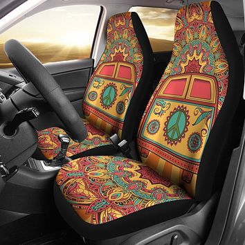 Hippie Van Car Seat Covers