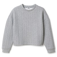 Embossed sweater | Sweaters | Weekday.com