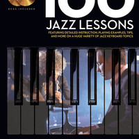 100 Jazz Lessons - Keyboard Lesson Goldmine Series (Book & CD)