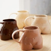 Female Form Mug | Urban Outfitters