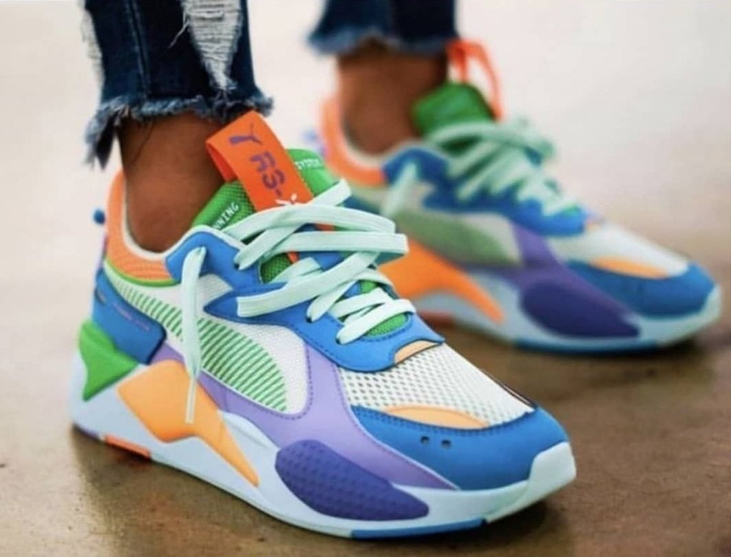 Image of Nike Sneakers Sport Shoes RSX Puma