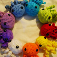 Amigurumi Octopus plush - pick one color