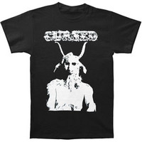 Cursed Men's  He Goat T-shirt Black