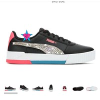 Crystal Puma Shoes Puma Carina L Tennis Shoes