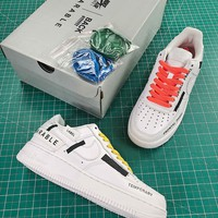 Nike Airforce 1 Low Back Printing Fashion Shoes - Best Online Sale