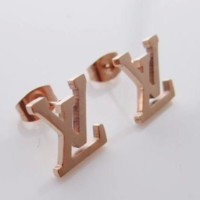 LV Louis Vuitton Women new fashion letter earring accessories