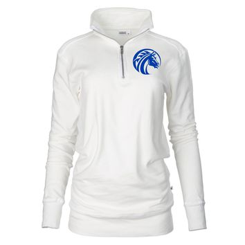 Official NCAA Fayetteville State University - PPFYU043 Unisex 1/4 Zip Up Fleece Pullover