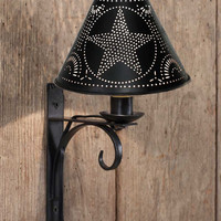 North Fork Wall Lamp with Star Shade