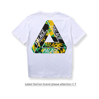 Summer Unisex Palace Cotton Tee Round-neck Short Sleeve T-shirts