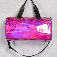 Holographic Duffle Bag