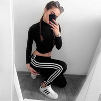 Stretch Hot Sale Sports Women's Fashion Leggings [8858251014]