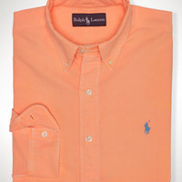 Classic-Fit Surf-Wash Oxford