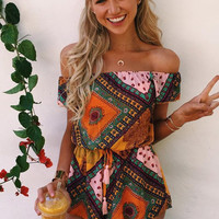 Cupshe I'll Take That Bohemian Romper