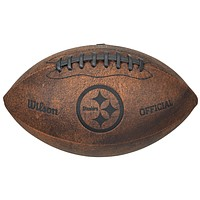 Pittsburgh Steelers Football - Vintage Throwback - 9 Inches