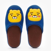 Kakao Friends Official Goods Ryan Character Applique Home Office Slippers 146