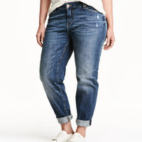 H&M+ Boyfriend Low Jeans - from H&M