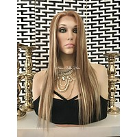 Mary Balayage lace front wig 16""