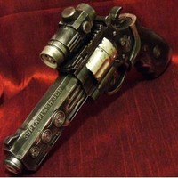 Amazon.com: Steampunk gun Victorian laser light and sound Zombie Fall Out Halo toy: Everything Else