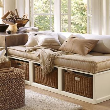 Stratton Daybed with Baskets
