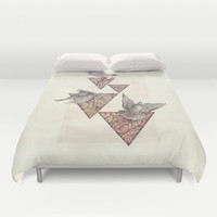 Nature Perfection Duvet Cover by Mike Koubou