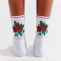 Out From Under Rose Tube Sock | Urban Outfitters