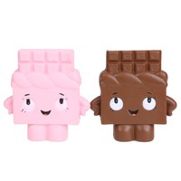 1PCS Squishy Bread with chocolate Cute Charm Phone Straps Super Slow Rising Cake