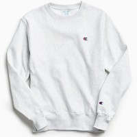 Champion Reverse Weave Fleece Crew Neck Sweatshirt | Urban Outfitters