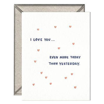 Even More Today - greeting card