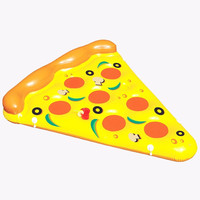 Giant Inflatable Pizza Summer Water Toys Inflated Float Outdoor Fun Toys Beach Resting Lounger Air Mattress Swimming Pool Favors