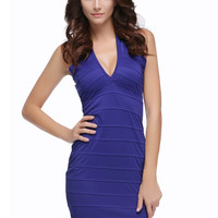 V-neck Party Dress