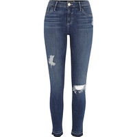River Island Womens Mid wash Amelie superskinny reform jeans