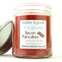Bacon Pancakes Scented Soy Candle Jar - Adventure Time
