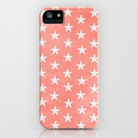 FREE SHIPPING - Starfish { Peach } iPhone 4, 4S, 5, 5S, 5C & Samsung Galaxy s3 s4 and  iPod Case by alterEGO