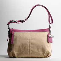 MIA SIGNATURE OUTLINE C CONVERTIBLE SHOULDER BAG