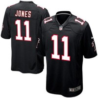 Youth Atlanta Falcons Julio Jones Nike Black Alternate Game Jersey