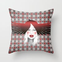 MonGhostX - Close, Fly, dreams... of a free world ! Peace. Throw Pillow by LilaVert