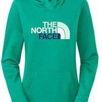 Gliks - The North Face Fave Pullover Hoodie for Women in Kokomo Green
