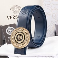 VERSACE Woman Fashion Smooth Buckle Belt Leather Belt H-A-GFPDPF Tagre™
